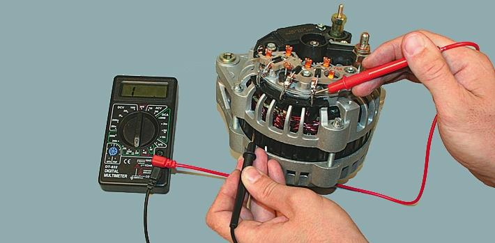 Фото №2 - как отремонтировать генератор на ВАЗ 2110