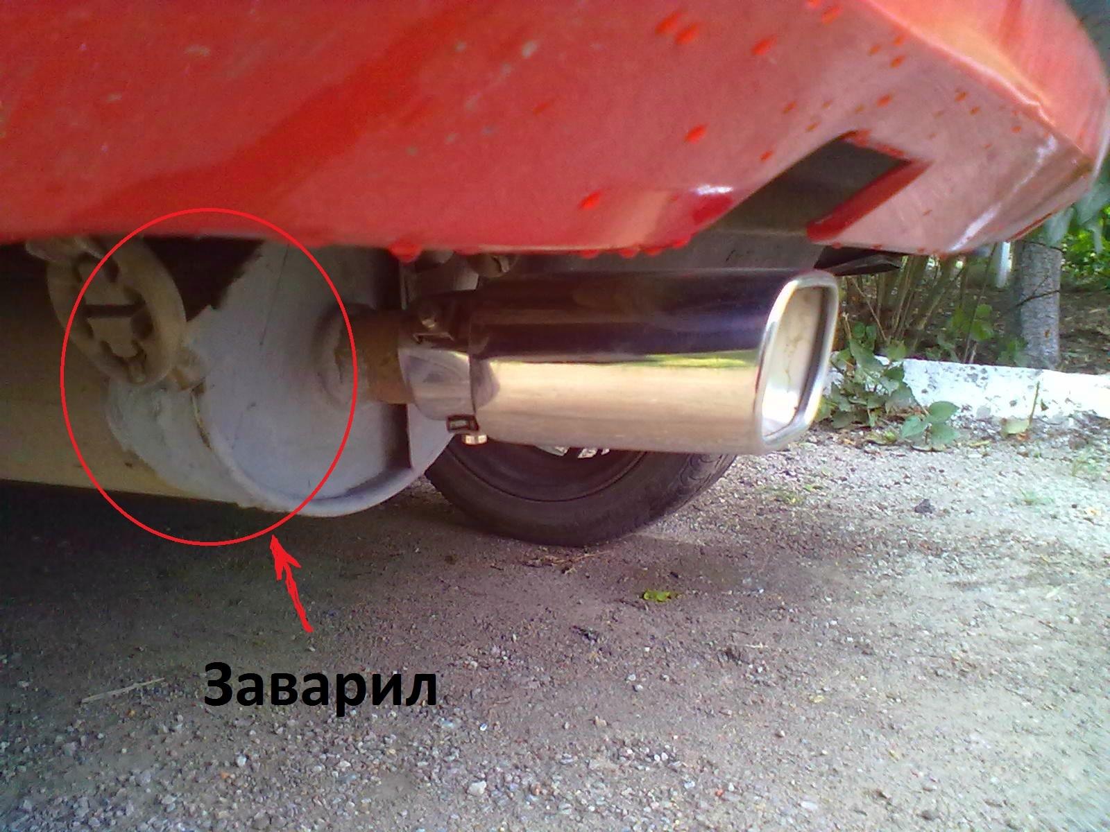 Изготовление прямоточной выхлопной системы для автомобиля! DRIVE 2 60