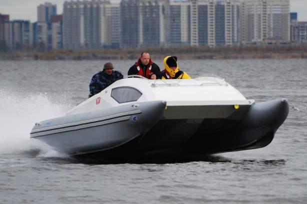 Скоростные надувные лодки по технологии АнтиРИБ