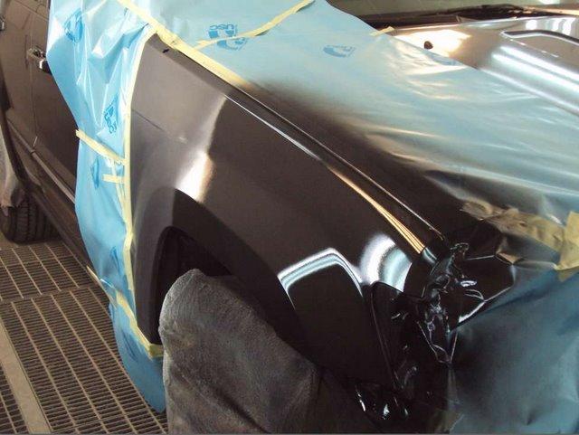 Технология покраски автомобилей своими руками